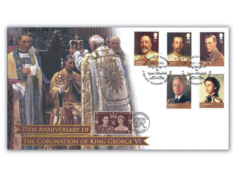 The House of Windsor - 75th Anniversary of the Coronation King George VI