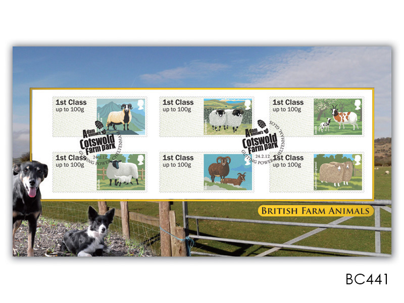 Post & Go - British Farm Animals - Sheep