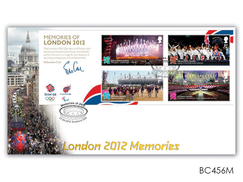 Olympic and Paralympic Games Memories Miniature Sheet