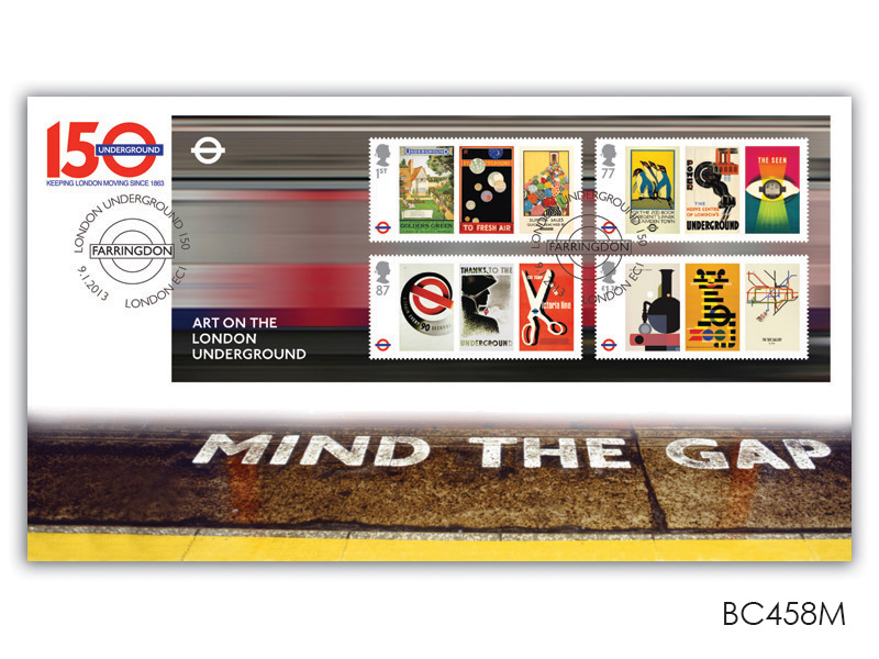 150th Anniversary of the London Underground Miniature Sheet