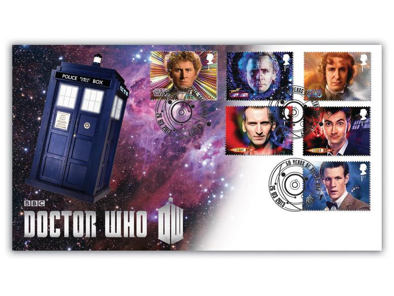 Classic TV - 50th Anniversary of Doctor Who Cover B