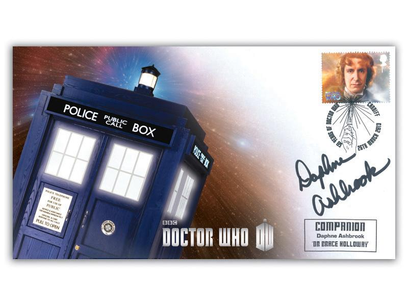 Classic TV - 50th Anniversary of Doctor Who Signed Daphne Ashbrook