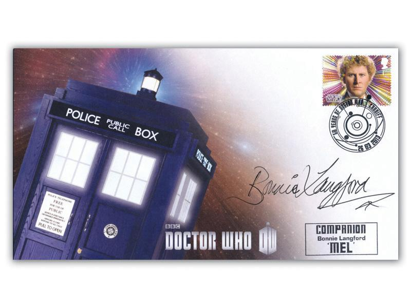 Classic TV - 50th Anniversary of Doctor Who Signed Bonnie Langford