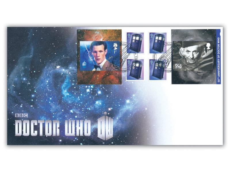 Classic TV - 50th Anniversary of Doctor Who Retail Booklet Cover