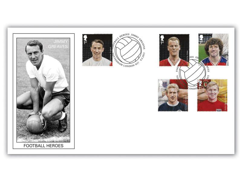 Football Heroes - Celebrating Jimmy Greaves