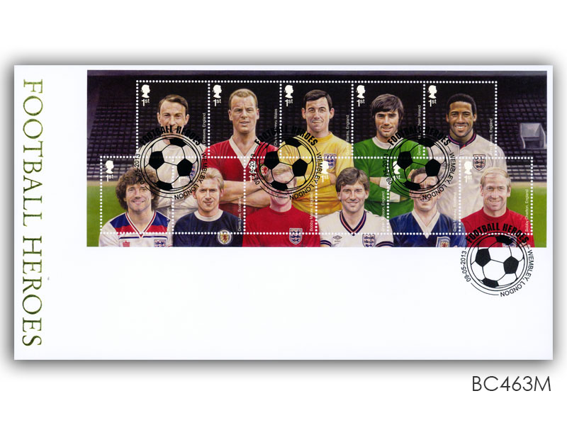 Football Heroes Miniature Sheet Cover