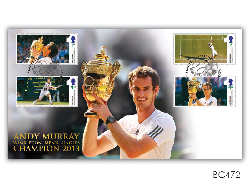 Andy Murray Wimbledon Men's Singles Champion 2013