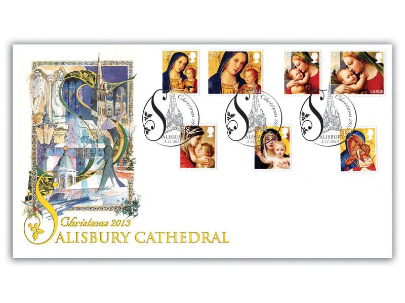 Christmas 2013 at Salisbury Cathedral Alternative Cover