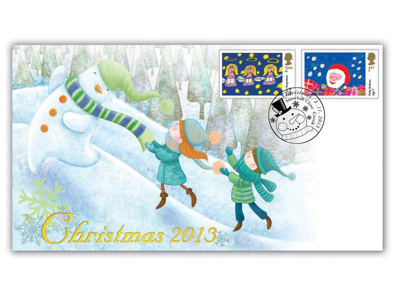 Christmas 2013 Children's Stamps Cover