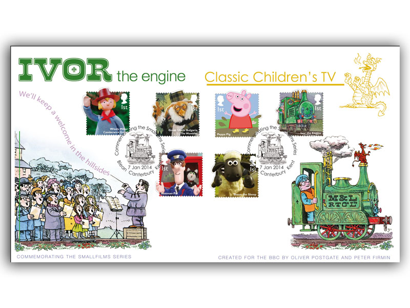 Classic Children's TV: Ivor the Engine