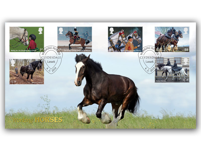British Working Horses - The Clydesdale
