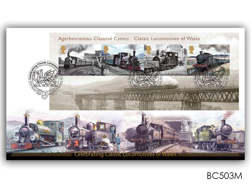 Classic Locomotives of Wales Miniature Sheet