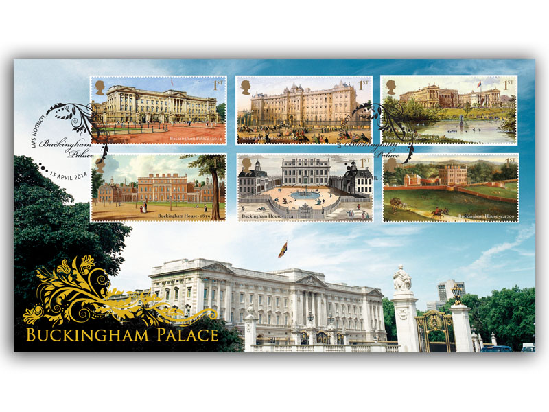 Buckingham Palace Stamps Cover