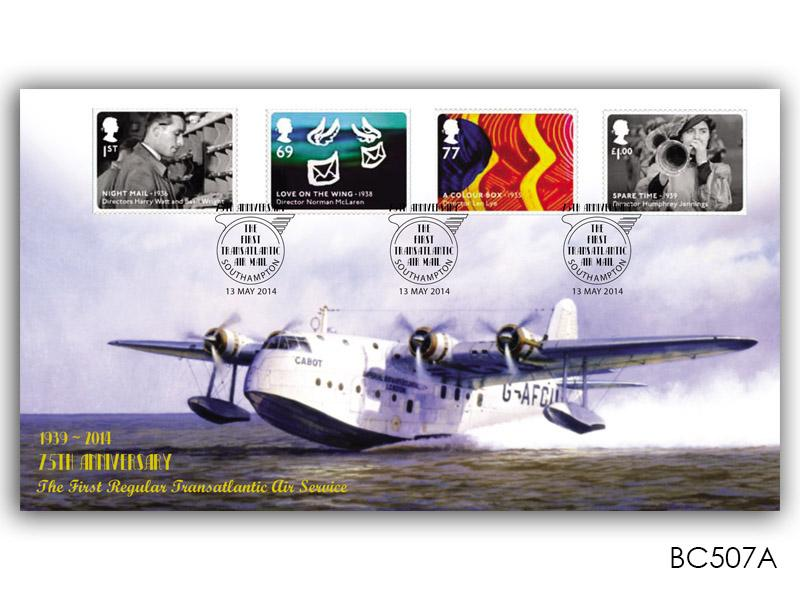 Great British Film Stamps from the Miniature Sheet