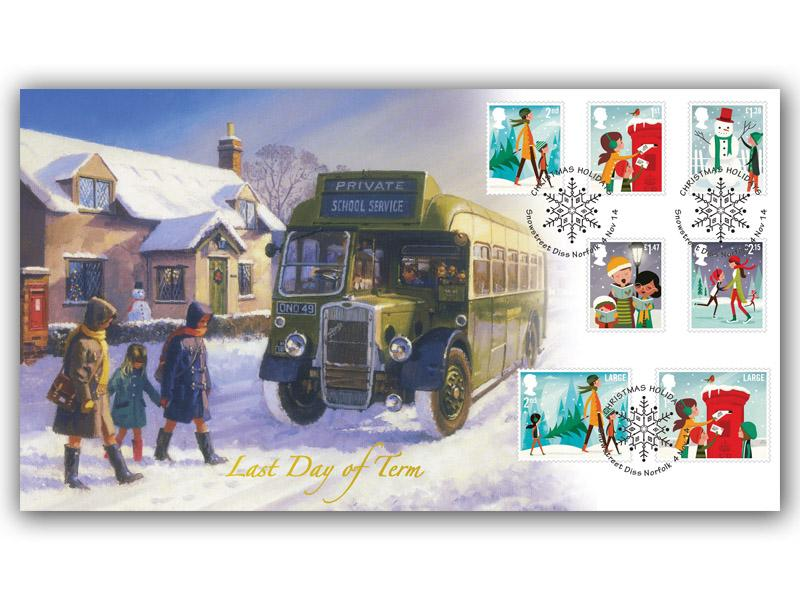 Christmas 2014 Stamps Cover
