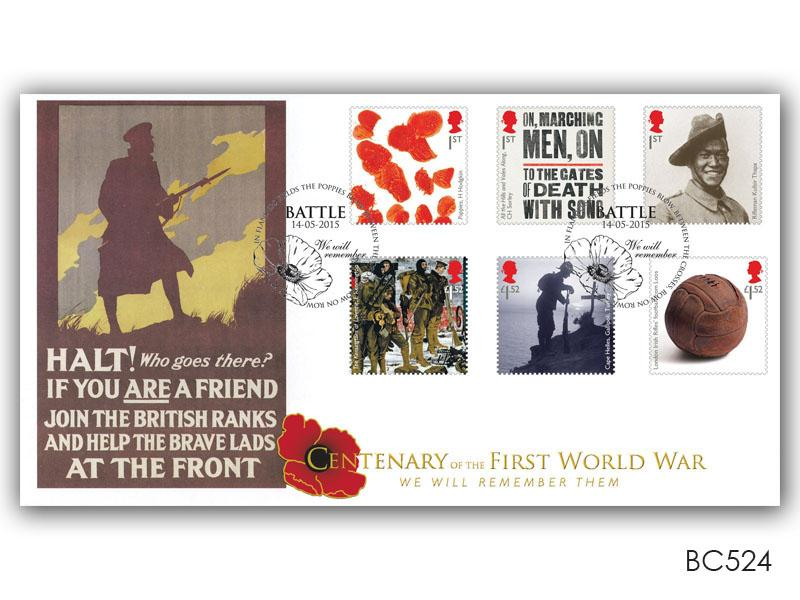 Centenary of The Great War 2015 - 'Halt! Who goes there?'
