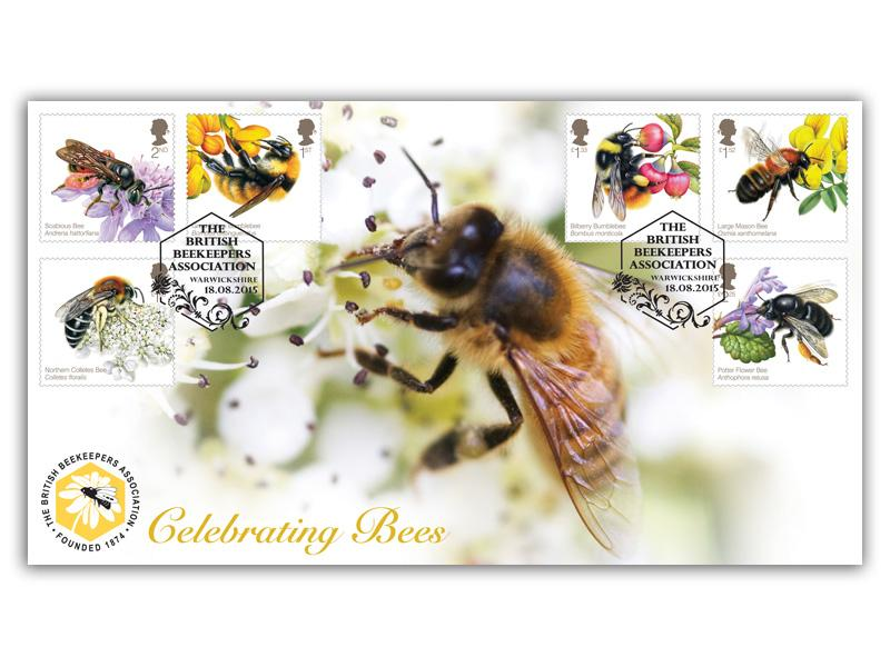 Celebrating Bees Stamps Cover