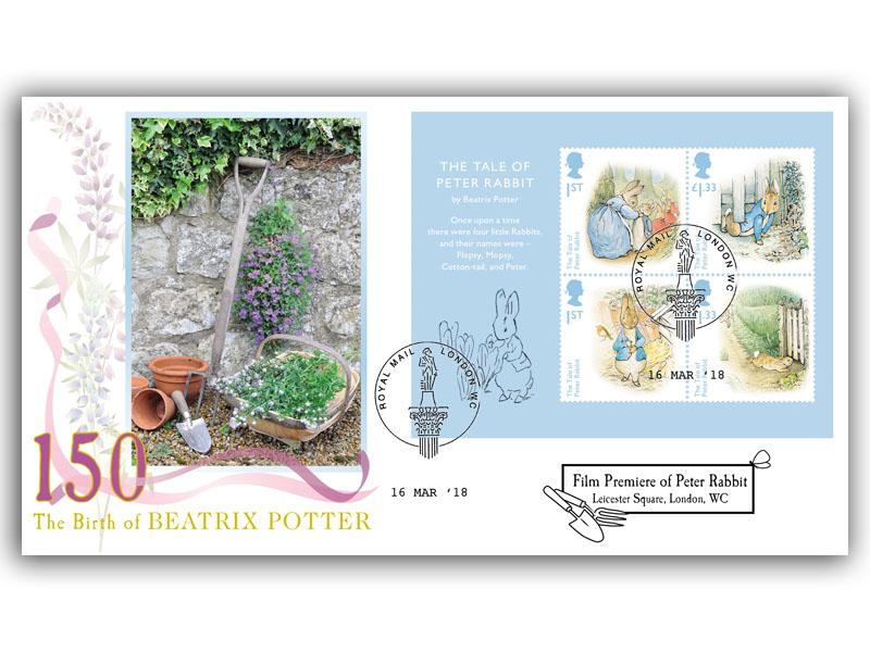 Beatrix Potter - Peter Rabbit Film Release First Day Covers