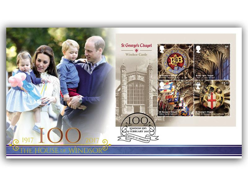 100 Years of the House of Windsor Miniature Sheet