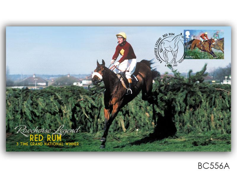 Tribute to Red Rum Single Stamp Cover