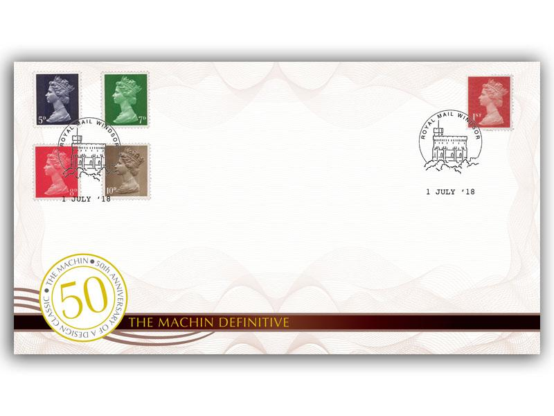 50th Anniversary of the Machin Definitive - Cover 4