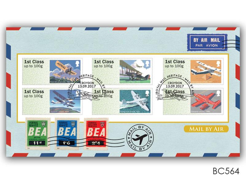 Post & Go - Royal Mail Heritage - Mail By Air