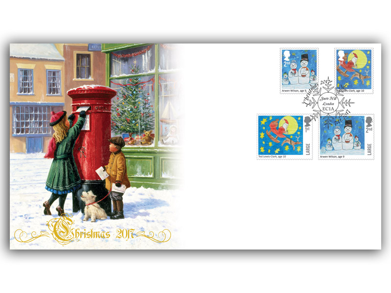 Christmas 2017 - Children's Christmas Stamp Competition Cover