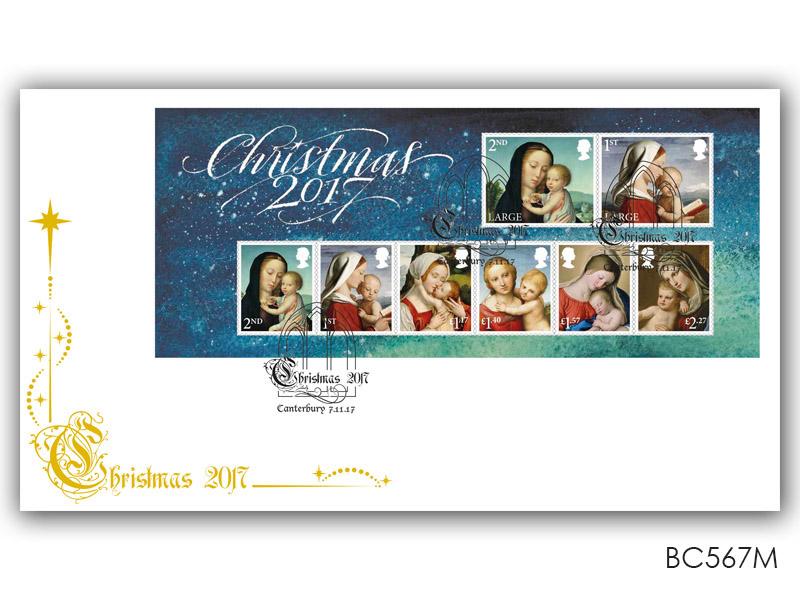 Christmas 2017 Miniature Sheet Cover