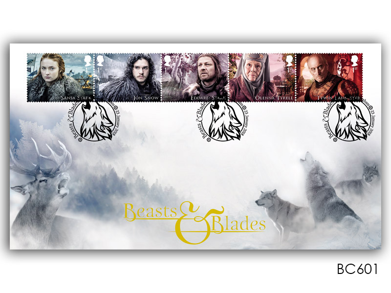 Game of Thrones - Beasts & Blades Ice Cover
