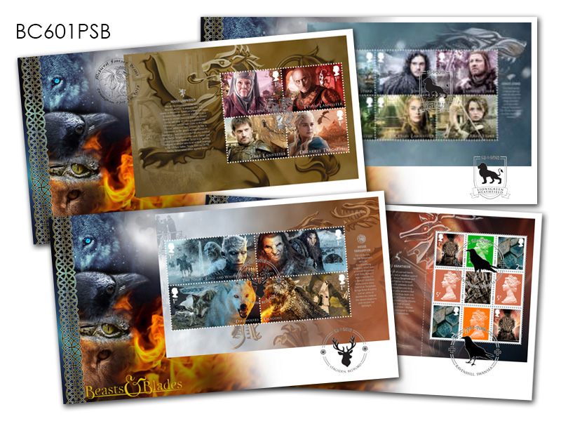 Game of Thrones Prestige Booklet Set of 4 Covers