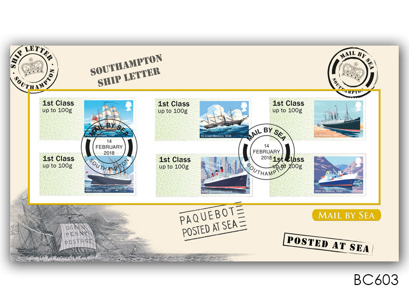 Post & Go - Royal Mail Heritage - Mail by Sea