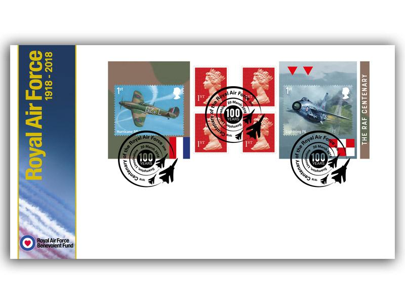 100 Years of the Royal Air Force Retail Stamp Booklet