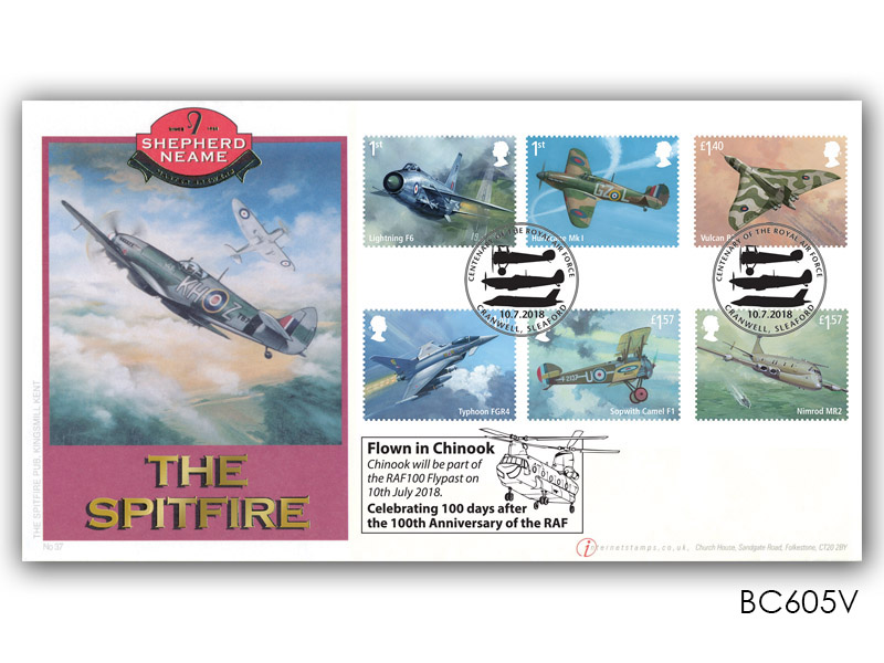 Royal Air Force Centenary Flypast cover