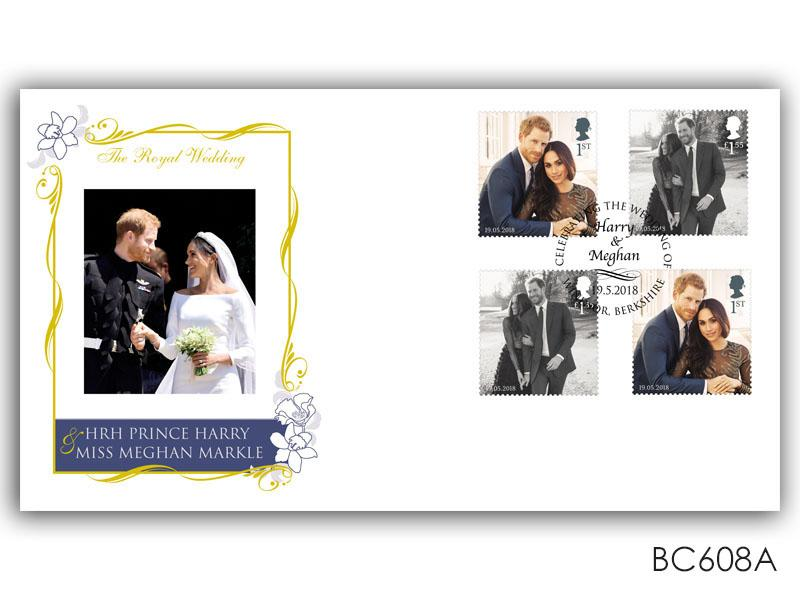 Royal Wedding of Prince Harry & Meghan Markle Stamps from the M/S