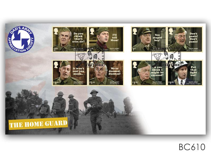 Dad's Army Stamps Cover
