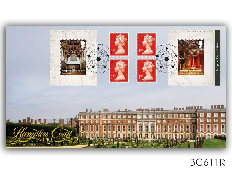 Hampton Court Palace Retail Booklet Cover