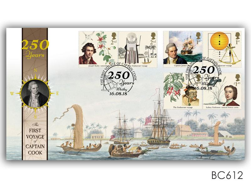250 Years of the First Voyage of Captain Cook Stamp Cover