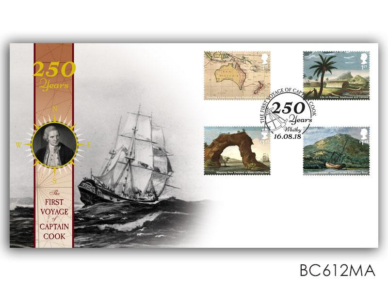 250 Years - Captain Cook Stamps Torn from the Miniature Sheet