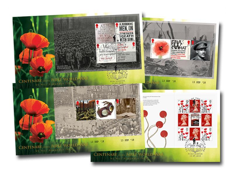 The Great War Centenary 2018 Prestige Booklet Set