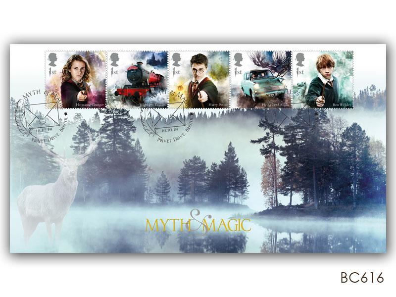 Harry Potter - Mystical Stag Stamp Cover