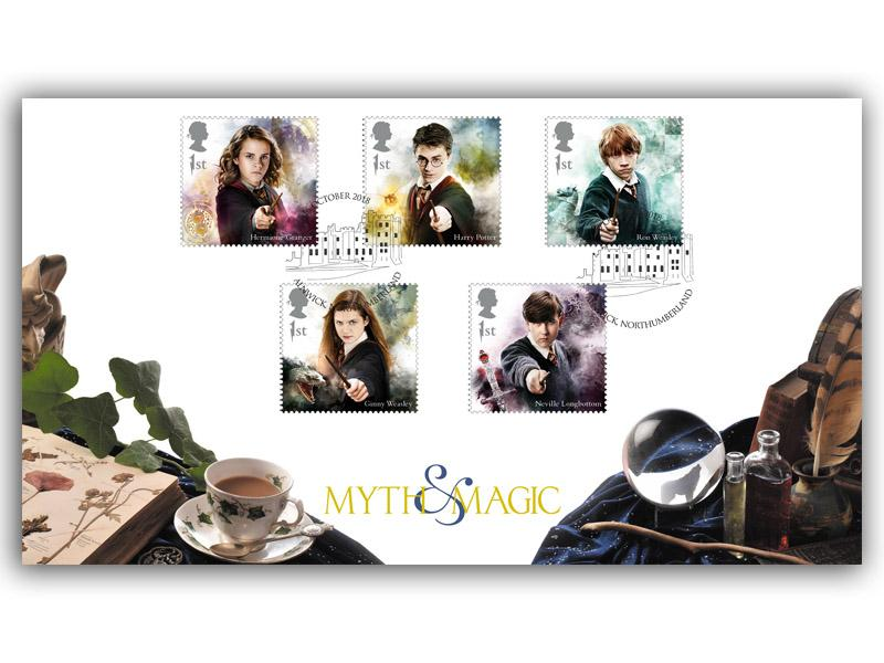 Harry Potter Magical Methods Set of 5 Stamps Alternative Cover