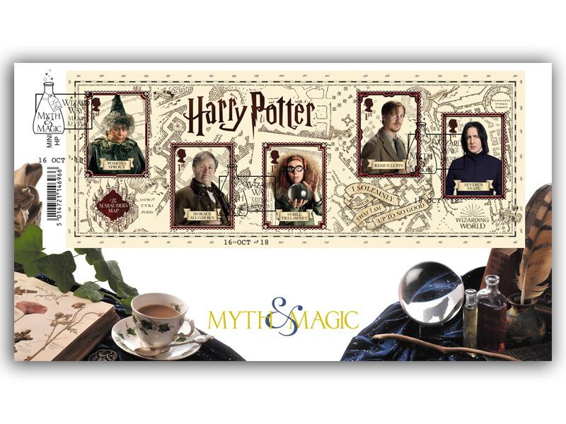 Harry Potter Magical Methods Barcode Miniature Sheet Cover