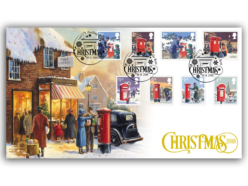 Christmas 2018 Stamps Cover