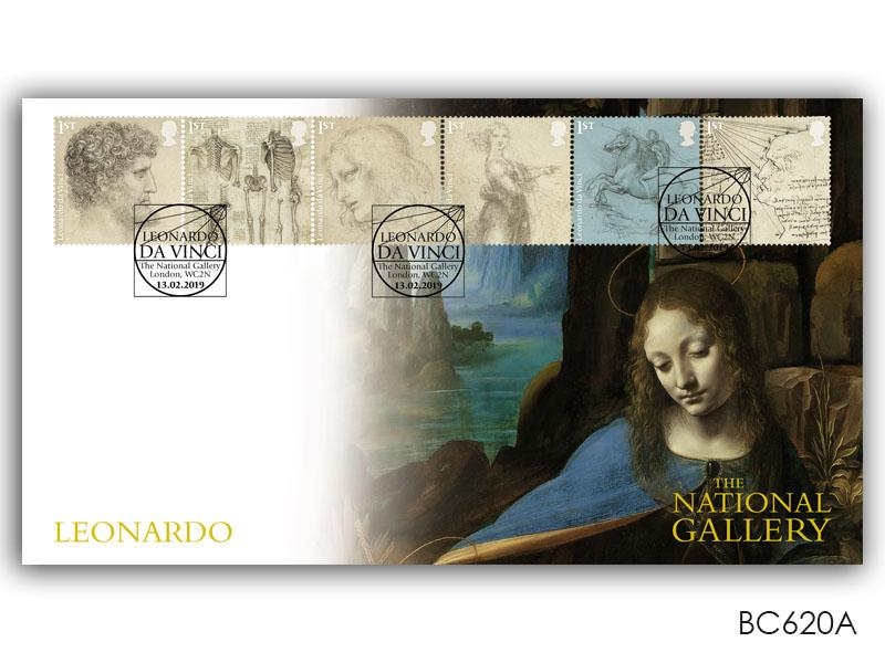 500th Anniversary of the Death of Leonardo da Vinci - Madonna cover design