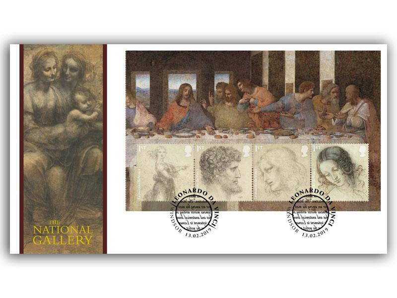 500th Anniversary of the Death of Leonardo da Vinci - The Last Supper PSB Pane
