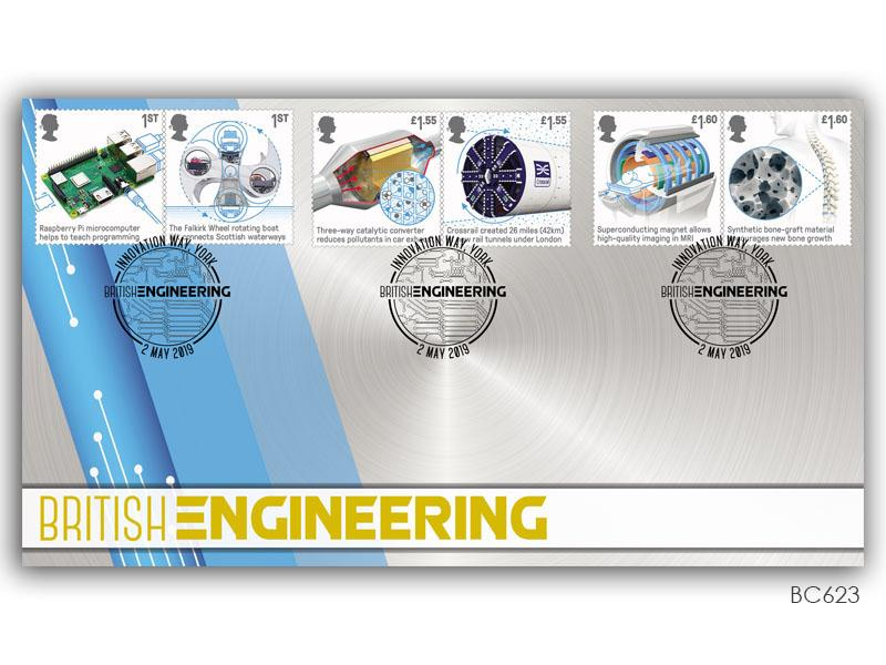 British Engineering Stamps Cover