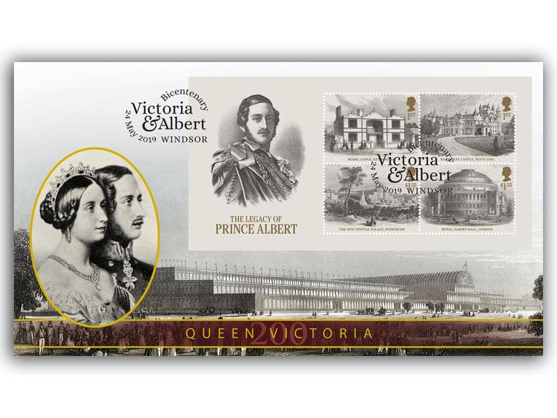 Queen Victoria - The Legacy of Prince Albert Miniature Sheet