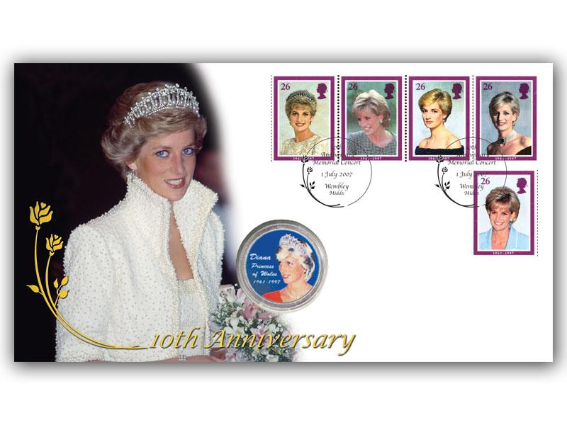 Princess Diana Tribute Coin Cover  (3 of 6)