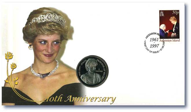 Princess Diana Tribute Coin Cover  (4 of 6)