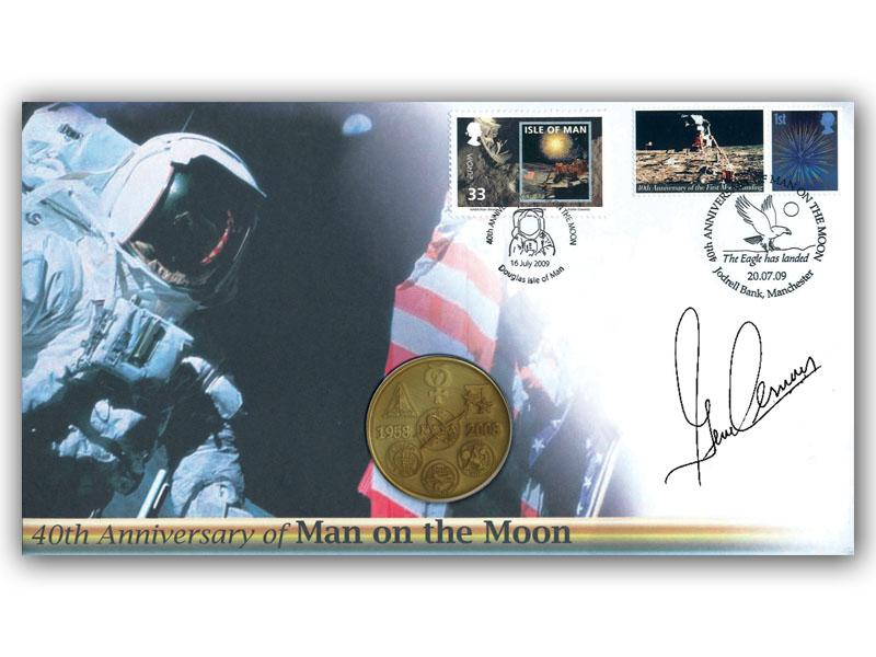 40th Anniversary Moonlanding Medal Cover
